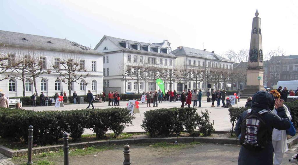 Luisenplatz in Wiesbaden um13:10 Uhr