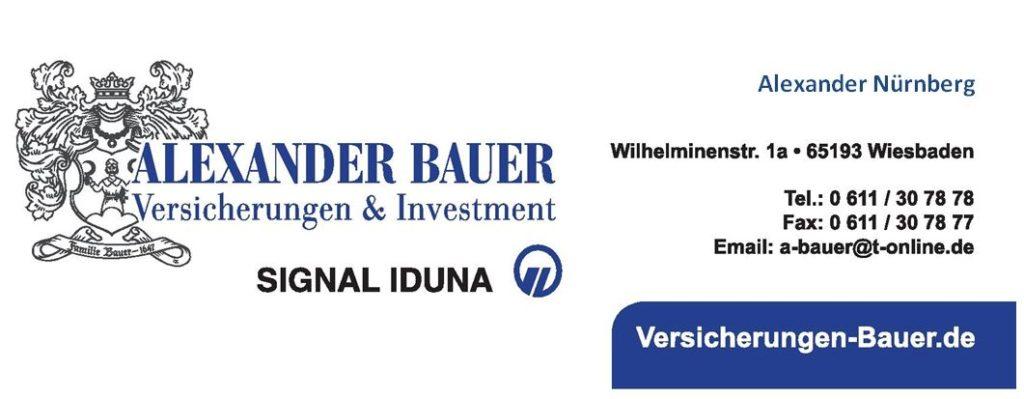 BAUER Signal Iduna Versicherungen, Alexander Nürnberg